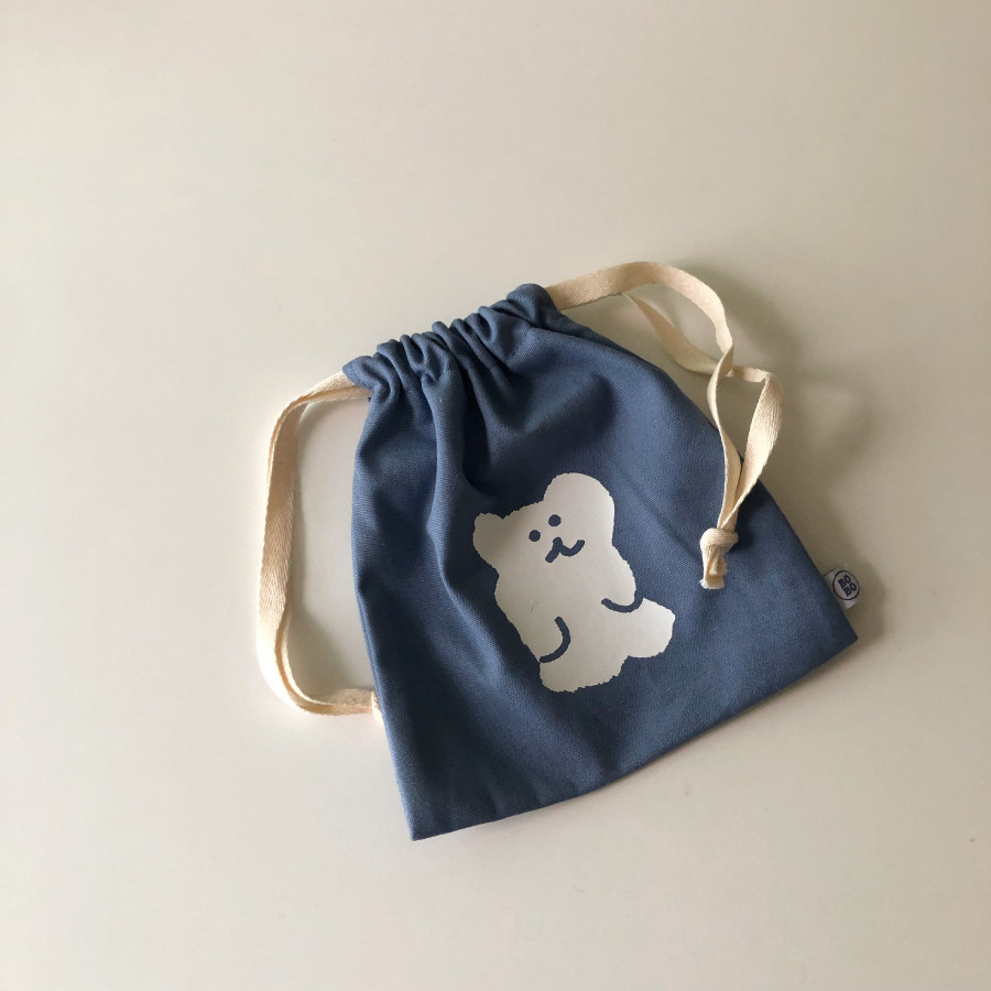 BLUEBERRY BOBO STRING POUCH