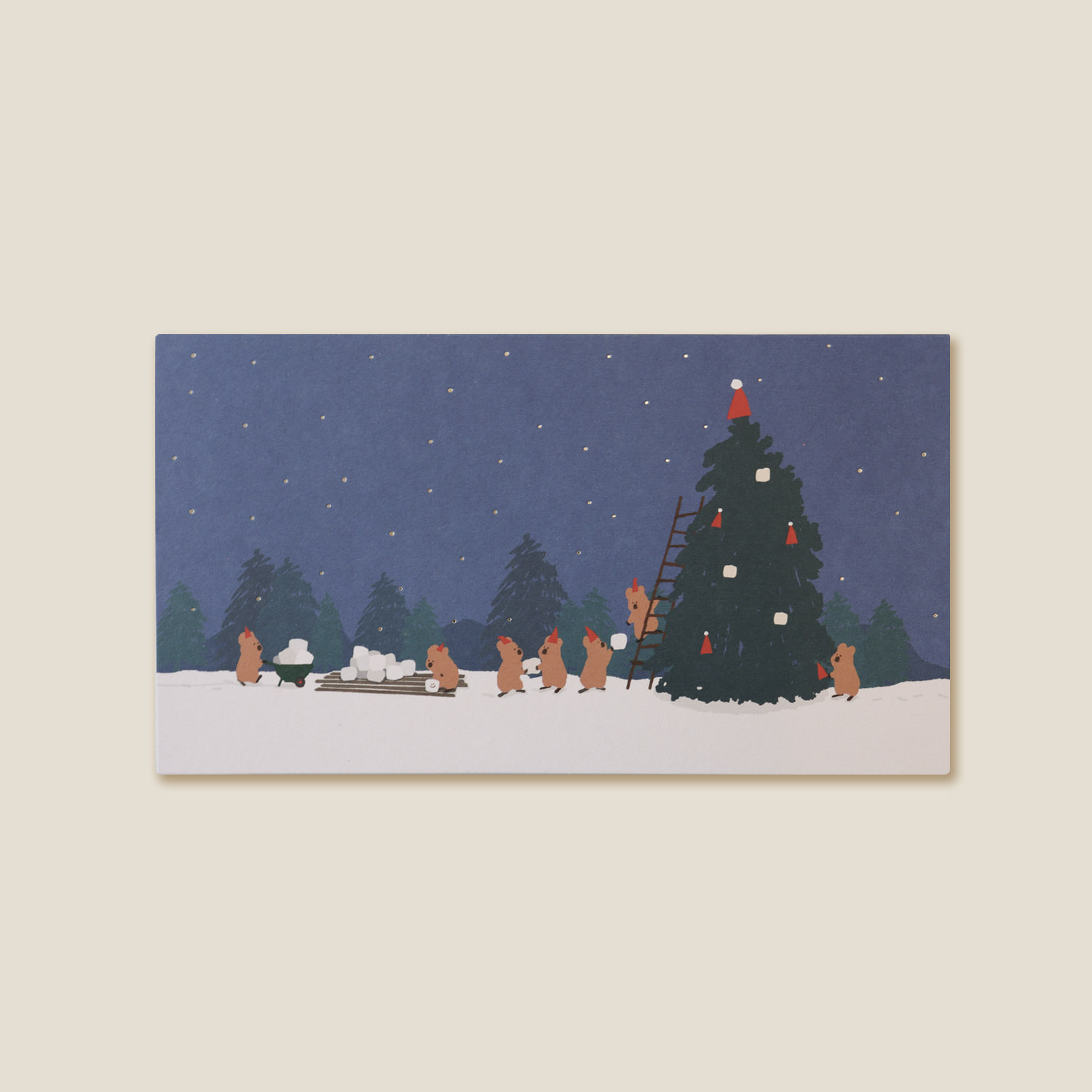 Snowy Forest Card