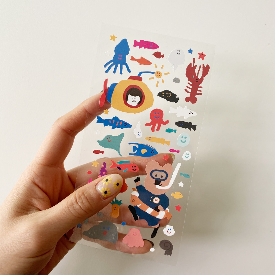 SEAFOOD STICKER