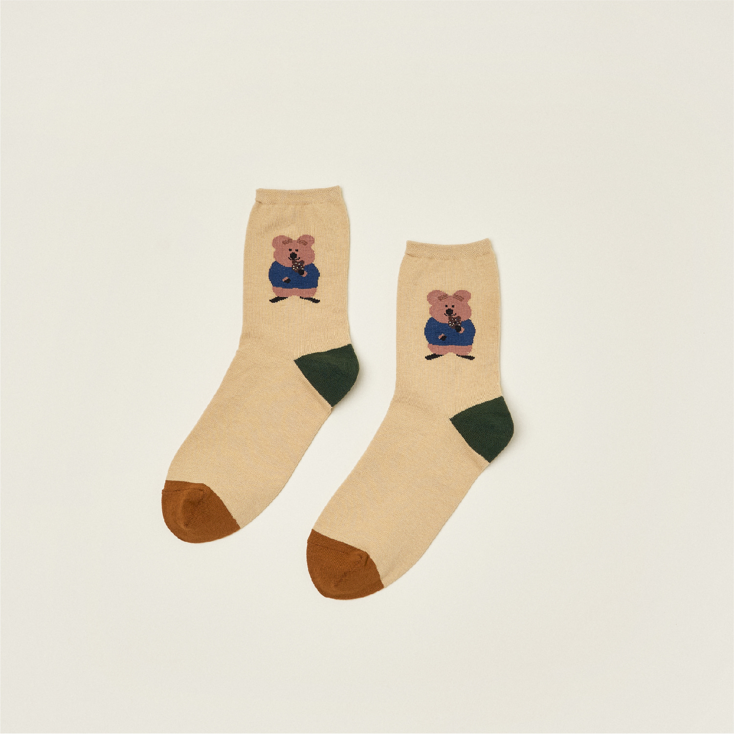 Donut Quokka Single Socks