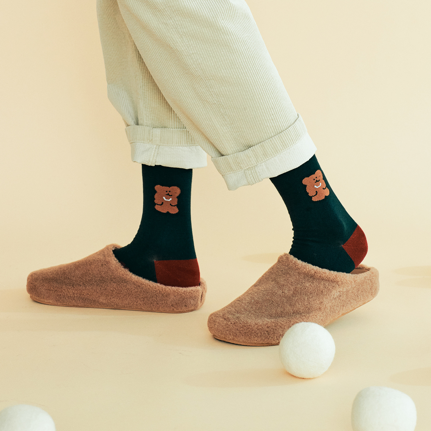 Forest BOBO Single Socks