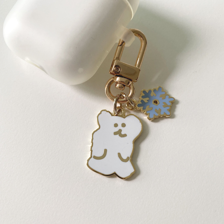 WINTER BOBO KEYCHAIN