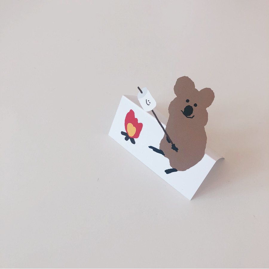 S'MORE QUOKKA STICKER
