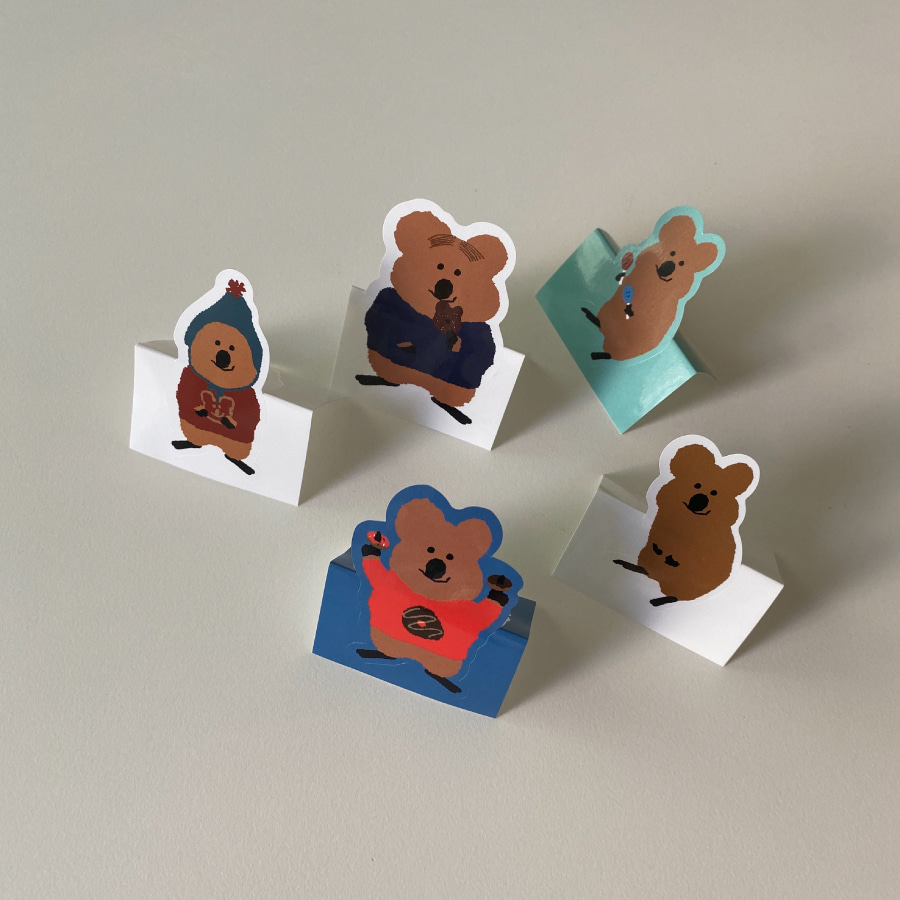 [Quokka] Sticker Pack